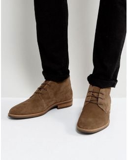 Daytona Suede Boots In Brown