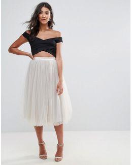 Tutu Midi Skirt