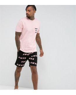 Pajama Set With Print