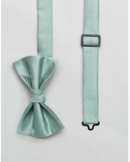 Wedding Bow Tie In Mint - Green