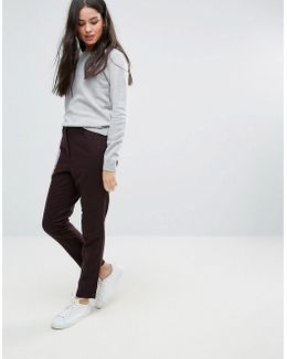 Soren Wool Blend Tailored Trouser