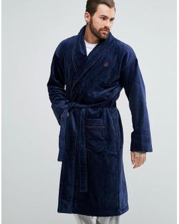Robe In Navy