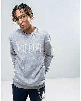 Discord Sweatshirt With Large Logo