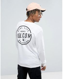 Long Sleeve T-shirt With Back Print