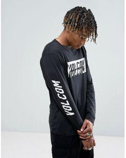Chopper Long Sleeve T-shirt With Sleeve Print