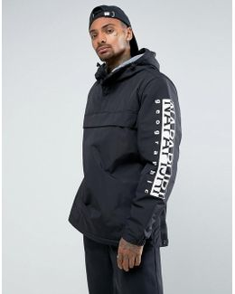Tier 1 Asher Jacket In Black With Logo Arm Detail