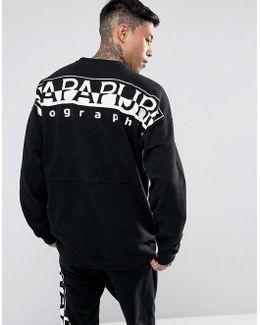 Tier 1 Badstow Logo Sweatshirt In Black Suit 1