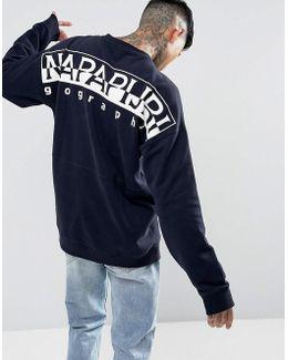 Tier 1 Badstow Logo Sweatshirt In Navy Suit 3