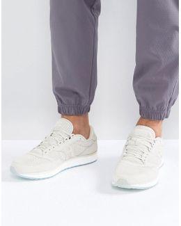 Freedom Runner Sneakers In Beige S40001-4