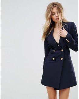 Cecille Tuxedo Dress