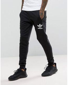 3 Stripe Jogger In Black Bs4629