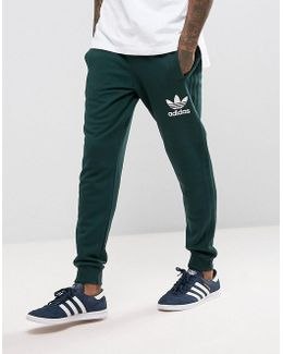 3 Stripe Jogger In Green Bs4637