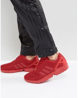 Zx Flux Round Toe Synthetic Sneakers