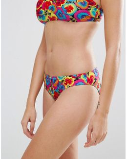 Pansy Pop Bikini Bottom