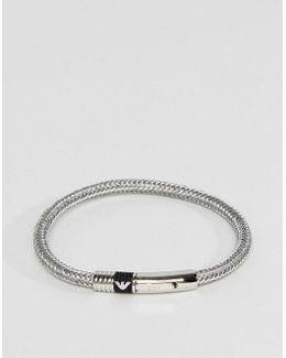 Signature Bracelet In Silver