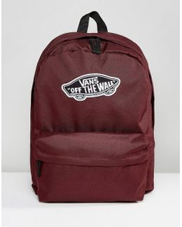 Realm Backpack In Burgundy