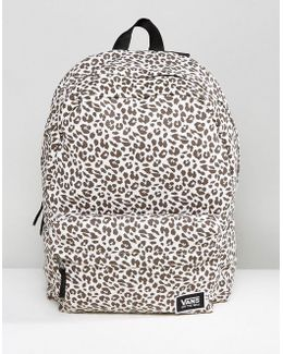 Realm Classic Backpack In Leopard Print