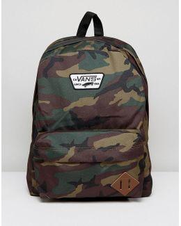 Old Skool Ii Backpack In Camo Print