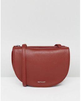 Saddle Bag In Deep Red