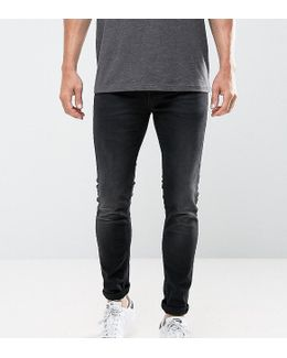 Jeans In Skinny Fit Washed Black
