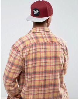 Wheeler Snapback Cap