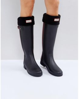 Original Black Tall Boot Socks