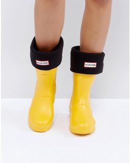 Original Black Short Boot Socks