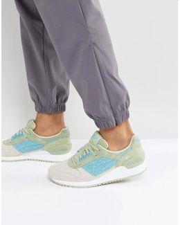 Gel Respector Sneakers In Green Hl7204040