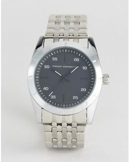 Watch With Stainless Steel Bracelet