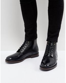 Dhavin Lace Up Boots