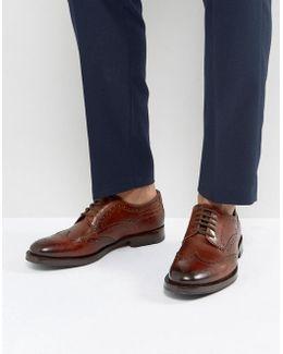 Senape Derby Brogue Shoes
