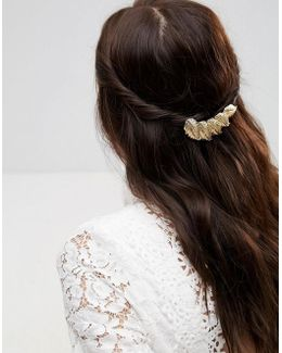 Leaf Hair Barrette