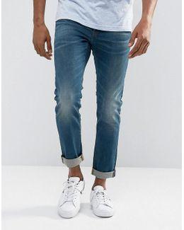 3301 Slim Medium Aged Wash Jean