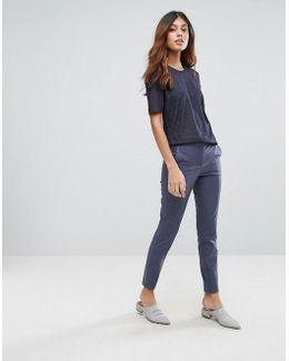 Muse Cropped Tailored Trousers