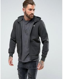 Core Hooded Zip Sweatshirt