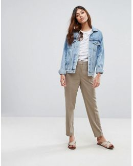 Candence Tailored Linen Pants