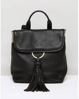 Mini Verity Tassel Ring Backpack