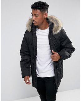 Beraw Street Teddy Parka Jacket