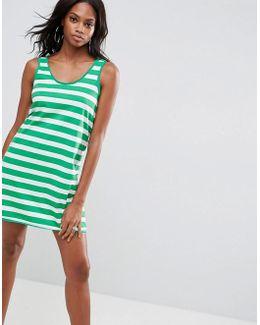 Ultimate Tank Dress In Stripe