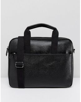 Morcor Document Bag In Leather