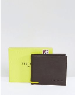Corcoin Coin Wallet In Leather In Brown