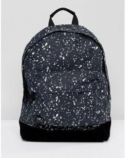 Splattered Backpack