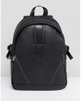 Backpack In Black With Large Logo