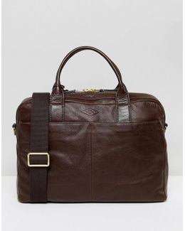 Laptop Bag In Leather