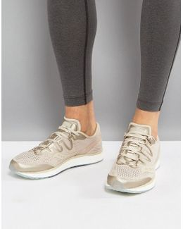 Running Runlife Freedom Iso Trainers In Tan S20355-50