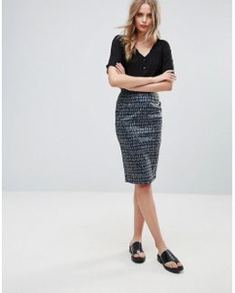 Canyon Sands Pencil Skirt