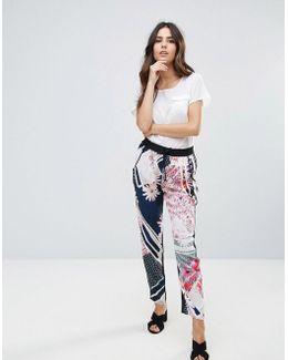 Samba Avenue Printed Drape Pants