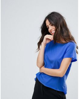 Polly Plains Frill Side T-shirt