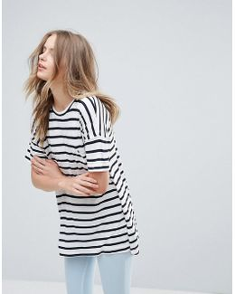 Pebbel Stripe T-shirt