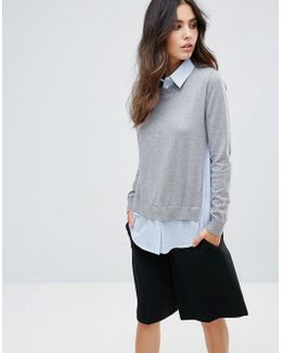 Mix It Shirt Sweater